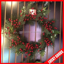 decorative latest design christmas green garland for sale