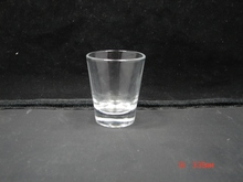 Shot Glass Glass Type and CE / EU,CIQ,EEC,FDA,LFGB,SGS Certification frosted mini shot glass