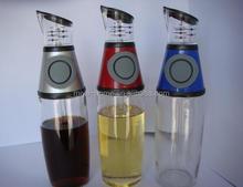 Factory price oil vinegar cruet set/ oil and vinegar dispenser
