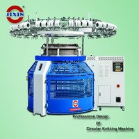 New design single jersey knitting machine jacquard large size circular flat knitting machine