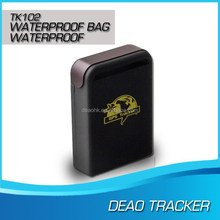 multifunction car/person gps tracker phone tracking app gps locator tk102-2 professional gps factory from Deaohk China