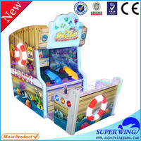 Shooting water game indoor electronic lottery ticket machine