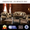 Dhouse luxurious stainless steel leather sofa AL183