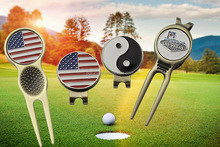 golf bulk magnetic divot tool/golf club magnetic divot tool/cheap promotional divot tools