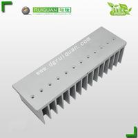 Aluminum 6063 heat sink for amplifier
