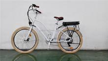 2015 new model fat tire cheap electric bike / mountain electric bicycle /adults beach cruiser fat electric bike