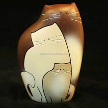 lucky cat Resin Arts & Crafts gifts animal home decoration furnishing Ornaments