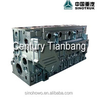 SINOTRUK HOWO and STEYR tractor,cargo and dump truck part , engine part 61500010373B Cylinder Block Assembly