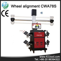 CWA78S precise automatic 3d wheel alignment with ce & iso with multi-language