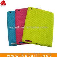 Custom design silicone case for ipad 2/3/4
