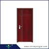 China zhejiang manufacture surface treatment coated with interior moulded veneer mdf doors