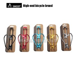 Cycling parts high quality aluminum alloy bicycle water bottle cage bike bottle holder