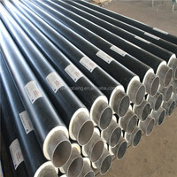 high density foam pipe insulation for chilled & heat water supply
