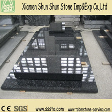 Silver Pearl Imported Granite Tombstone with Good Prices