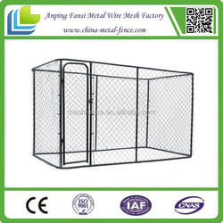 China Supplier High Quality Factory Direct customized chain link dog kennel lowes