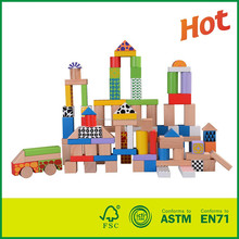Wooden House Building Block Self-Assembly Toy For Kids