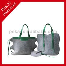 Most popular felt material weekend bag
