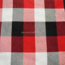 """100% cotone rosso cotone flanella a quadri fabric20*10 40*42 57/58"""""""