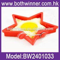 TR070 star shaped fried egg