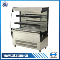 commercial fruit and vegetable display cooler