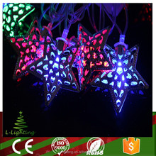 new product multicolor Christmas star led light