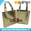 2015 Recycled laminated non woven shopping bag with custom logo printing
