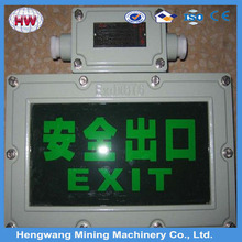 2015 Durable Emergency Exit Sign Board/Lamp
