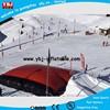 YBJ big discount high quality inflatable big air bag for snowboard, giant pvc inflatable high jump air bag