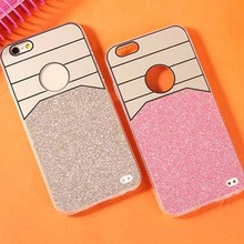 PC tpu bling phone case for iphone5 5s, for cover case iphone5s new arrival !