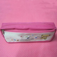 Fashion Polyester Zipper Pencil Bag for girls
