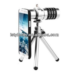 For iphone 5 /Samsung S4 Camera Lenses 12x Telephoto Lens Long Focal Lens with tripod.
