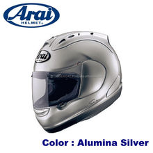 Aerodynamic ARAI helmet with face guard made in Japan product