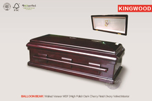 wooden pet casket cremation furnace made in china