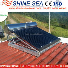 High Quality solar water heater panels For home use
