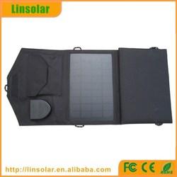 Laptop Mobile Phone Usage Monocrystalline Silicon Material Flexible Solar Panel 14W 18V & 5V Best Quality