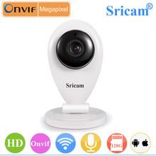 Promotion !! Sricam SP009 Cheapest H.264 Two Way Audio Wifi Mini Kamera 128G SD Card Record Wireless Mini Kamera