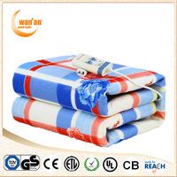 Anti-Pilling Polyester Fleece 220 V Electric Heating Blanket For Hotel