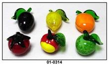 hand made glass arts glass fruit