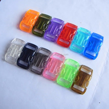Transparent side release plastic buckle,3/8 safety buckle,buckle wholesale pc material