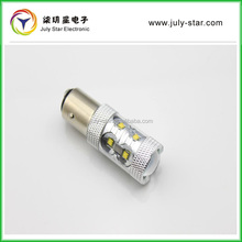 New design 1156 C R E E 3535 led 50W car led reverse light bulb with lens