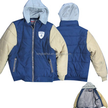2015 branded export surplus garments stock lots for men bomber jacket