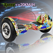 bigger size electric hoverboard motorcycle IOHawk 2 wheel electric scooter drift monorover