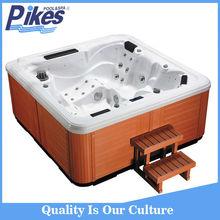 Air jets massage whirlpool bathtub outdoor spa tub and outdoor bathtub