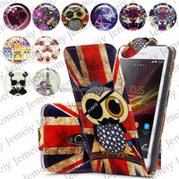 For Sony Xperia Neo Mt15i Folio Print Flip Leather Case Phone Bag Back Cover Bags