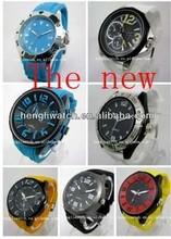 2015 fashion wrist sport Silicone men's Watches
