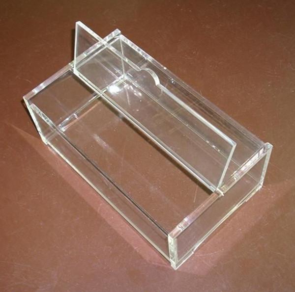 Acrylic Box Lid : Acrylic white boxes with hinged lids buy