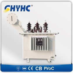 Oil Immersed 33/0.4 KV, 25KVA Copper Material Winding electric power transformer $1700/set