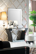 Modern silver dressing table designs with mirror LV-T807