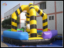 New design giant inflatable sports arena, inflatable sports games,inflatable sports zone for sale