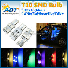 T10 194 168 5050 4 SMD LED Canbus Error Free Side Light Bulb Blink Mod Car Accessories